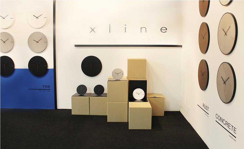 ρολόγια τοίχου xline